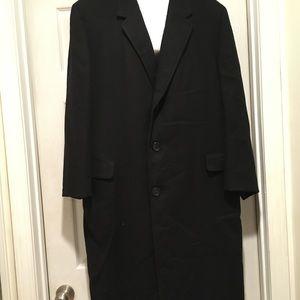Men's Black Petticoat dress coat